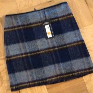 British Striped Mini Skirt M&S